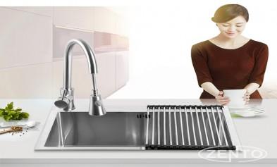 Nên lựa chọn loại chậu rửa bát nào vừa đẹp vừa tốt?