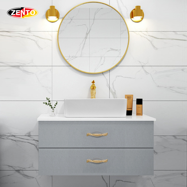 Bộ tủ, chậu, bàn đá, gương Lavabo ZT-LV8980-6089 (cánh Acrylic)