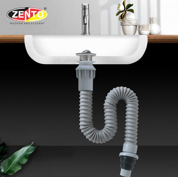 Bộ xi phông & ống xả mềm lavabo ZXP015