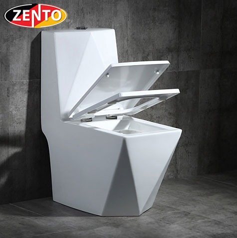 Bàn cầu 1 khối Diamond Zento BC16017 (3961)