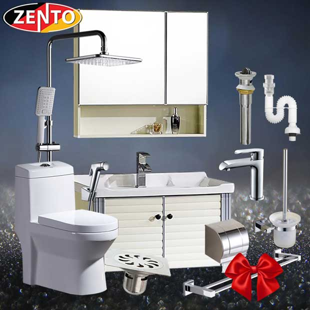 Combo 7 thiết bị vệ sinh cao cấp Zento BS17