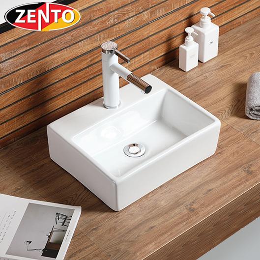Chậu lavabo đặt bàn Zento LV6071 (320x290x110)