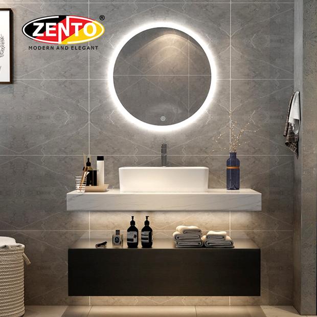 Bộ tủ lavabo, bàn đá, gương Led LV8972-Pro