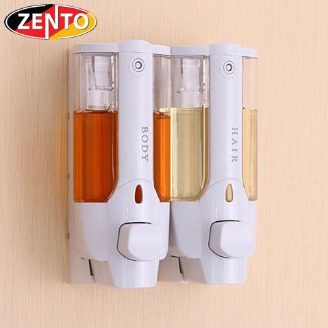 Hộp đựng dầu gội sữa tắm gắn tường kép Zento ZT402
