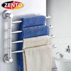 Giá treo khăn 4 thanh Rotating towel bar OLO030