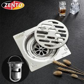 Phễu thoát sàn chống mùi inox304 TS109-304 (99x99mm)