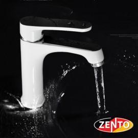 Vòi chậu rửa nóng lạnh mạ sứ Zento ZT2087