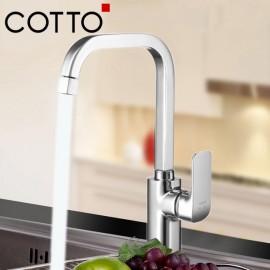 Bộ vòi rửa bát nóng lạnh cotto Scirocco CT2150A