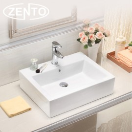 Chậu lavabo đặt bàn Zento LV26079