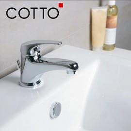 Bộ vòi chậu rửa nóng lạnh Cotto CT516E