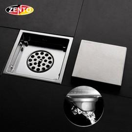 Thoát sàn chống mùi & côn trùng inox304 ZT554-1L (150x150mm)