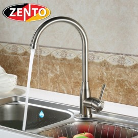 Vòi rửa bát nóng lạnh cao cấp inox304 Zento SUS5581