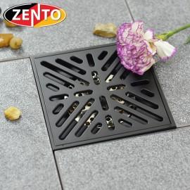 Thoát sàn chống mùi Black series Zento ZT576-1B (120x120mm)