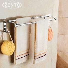 Giá treo khăn kép inox Zento ZT-SV6205-31