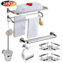 Bộ 5 phụ kiện nhà tắm inox Zento ZT6505