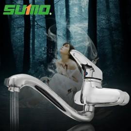 Vòi rửa bát Sumo gắn tường hình thiên nga SM806