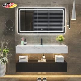 Bộ tủ lavabo, bàn đá, gương đèn Led ZT-LV8956