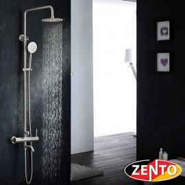 Bộ sen cây tắm nóng lạnh inox Zento SUS8302