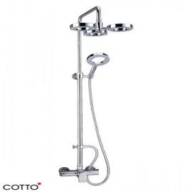 Sen cây tắm nóng lạnh Cotto CT-2071W