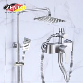 Bộ sen cây nóng lạnh inox304 Zento SUS8104-1 (new)