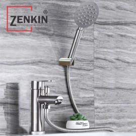 Bộ vòi lavabo kết hợp sen tắm inox304 Zenkin ZK1046