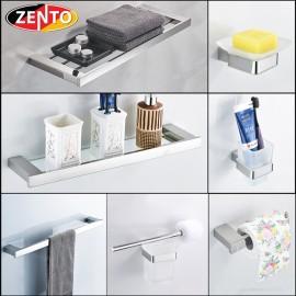Bộ 7 phụ kiện phòng tắm inox304 Diamond series HC5800-1