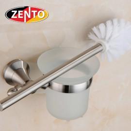 Bộ chổi cọ, kệ đỡ toilet inox304 Zento HC3801