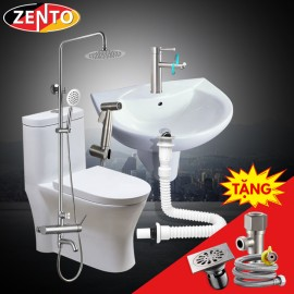 Combo 6 thiết bị vệ sinh Zento BS03