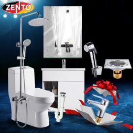 Combo 6 thiết bị vệ sinh Zento BS06