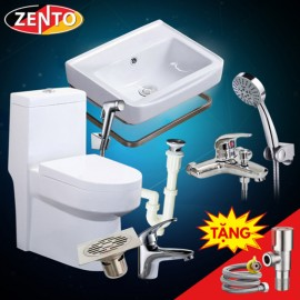 Combo 7 thiết bị vệ sinh Zento BS12-new
