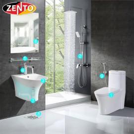Combo 9 thiết bị vệ sinh Zento BS16