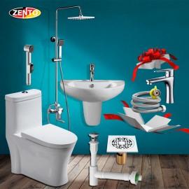 Combo 6 thiết bị vệ sinh Zento BS23