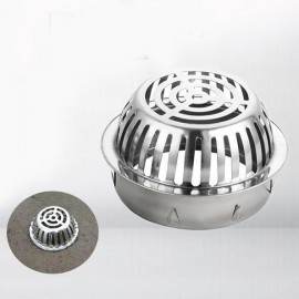 Thoát sàn ban công inox TS100-D160 (ROOF DRAIN)