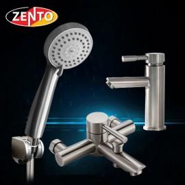 Cặp đôi sen tắm và vòi lavabo Zento CB005