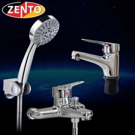 Cặp đôi sen tắm và vòi lavabo Zento CB016