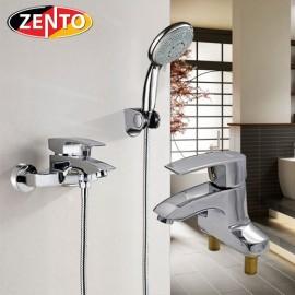 Cặp đôi sen tắm & vòi lavabo Zento CB022