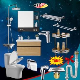 Combo 8 thiết bị vệ sinh Zento BS26