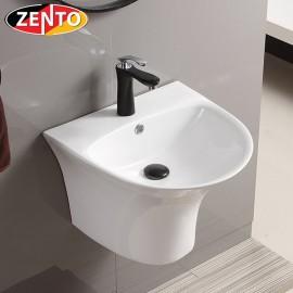 Chậu lavabo treo tường Luxury Zento LV500A