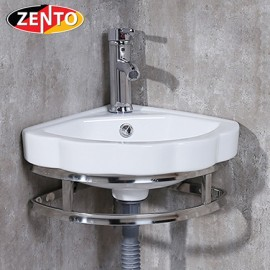 Chậu lavabo góc treo tường LV6095 (8523)