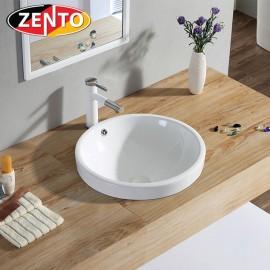 Chậu lavabo dương vành Zento LV6042