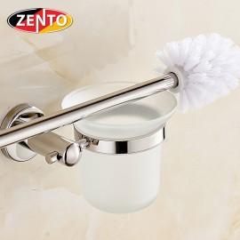 Bộ chổi cọ, kệ đỡ toilet inox Zento HA4644