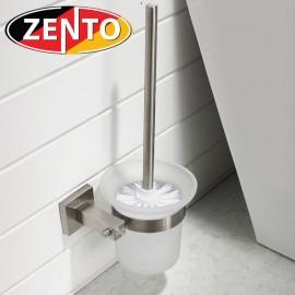 Bộ chổi cọ, kệ đỡ toilet inox304 Zento HC1271