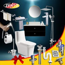 Combo 9 thiết bị vệ sinh Zento BS22