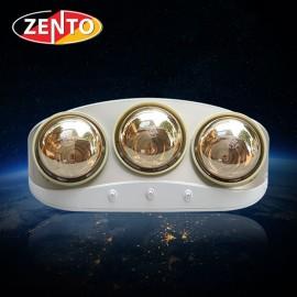 Đèn sưởi nhà tắm 3 bóng Zento ZT3-Gold