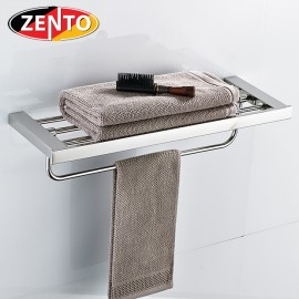 Giá để đồ kết hợp treo khăn inox304 Diamond series HC5812
