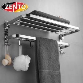 Giá để đồ kết hợp treo khăn inox 304 Zento HC1268-1new