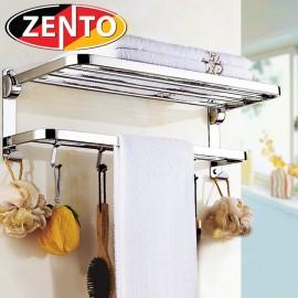Giá để đồ kế hợp treo khăn inox 304 Zento HC1268