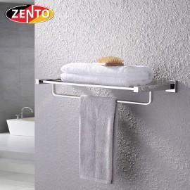 Giá để đồ kết hợp treo khăn inox Zento HA4512