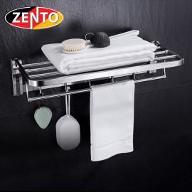 Giá để đồ kết hợp treo khăn inox Zento HA4646-1
