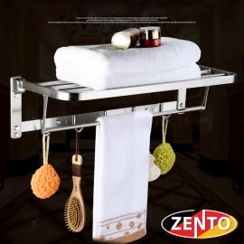 Giá để đồ kết hợp treo khăn inox 304 Zento HC1278